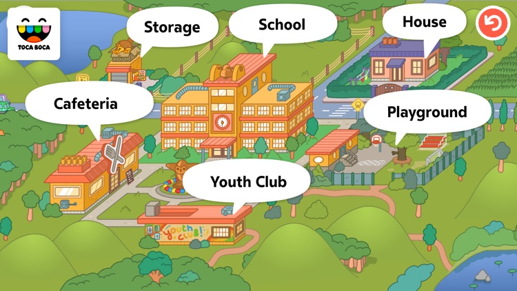 Toca Life: School screenshot-4