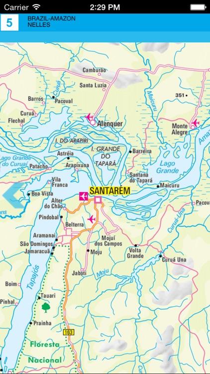 Brazil (Amazon). Tourist map. screenshot-3