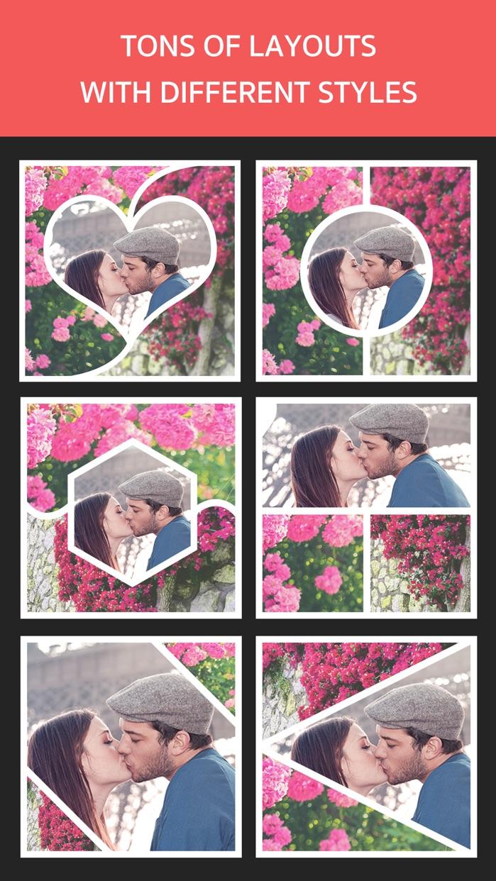 Photo Frame Editor – Pic Collage Maker Free Screenshot