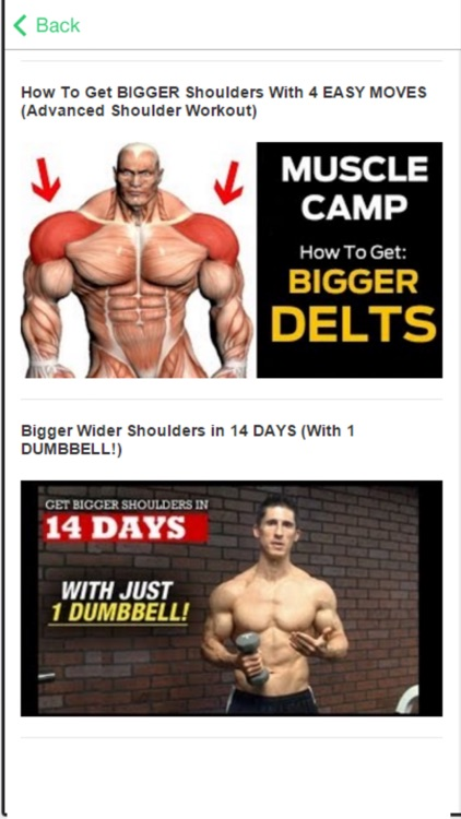 How To Build Muscle - Bodybuilding Tips and Advice screenshot-3