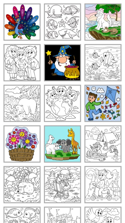 Coloring for kids (Book 2)