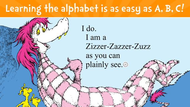 Dr. Seuss's ABC - Read & Learn Screenshot