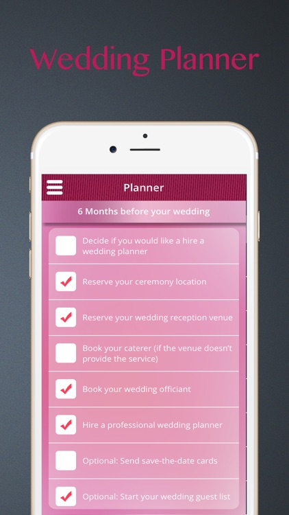 iWedding Planner for Engaged Couples
