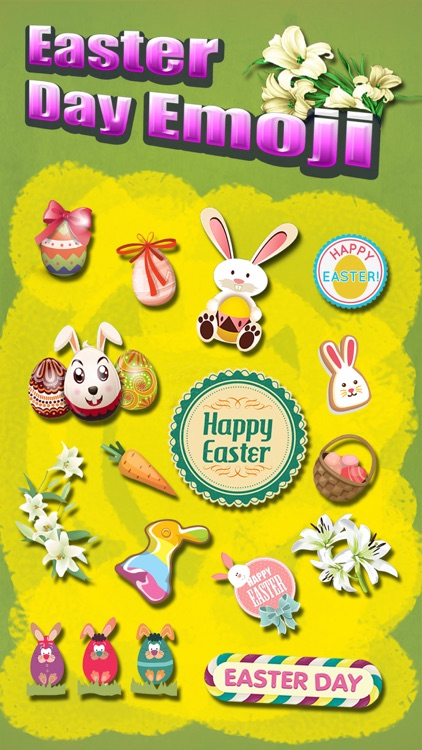 Happy Easter Emoji.s Pro - Holiday Emoticon Sticker for Message & Greeting screenshot-0