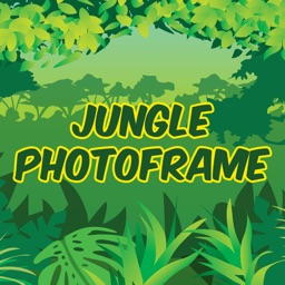 Wild Jungle Theme Photo Frame/Collage Maker and Editor