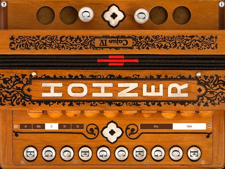 Hohner Cajun SqueezeBox Accordion - Deluxe Edition