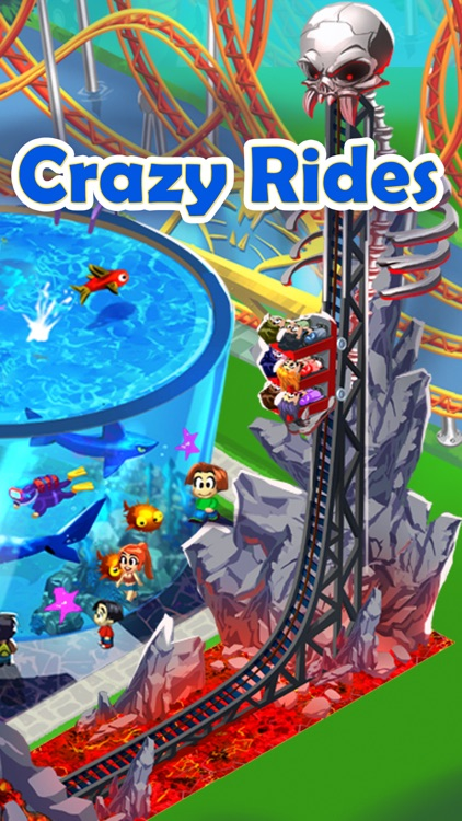 Happy Park™ - Best Theme Park Game for Facebook and Twitter screenshot-1