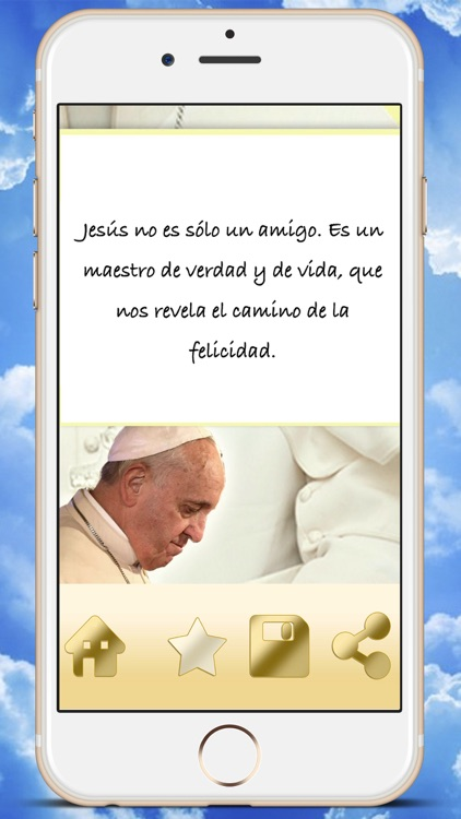 Phrases Pope Francisco I in Spanish catholic best quotations - Premium screenshot-3