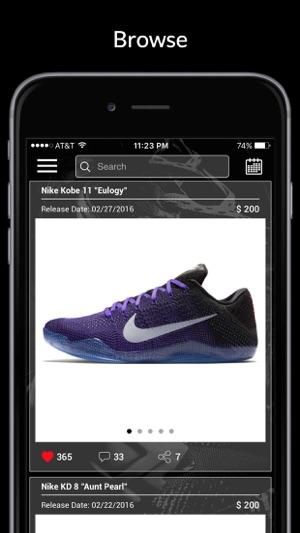 Kicks: Release Dates & Sneaker News en App Store