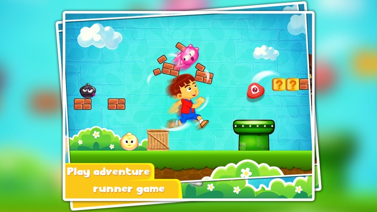 Crazy Adventure World - platform game