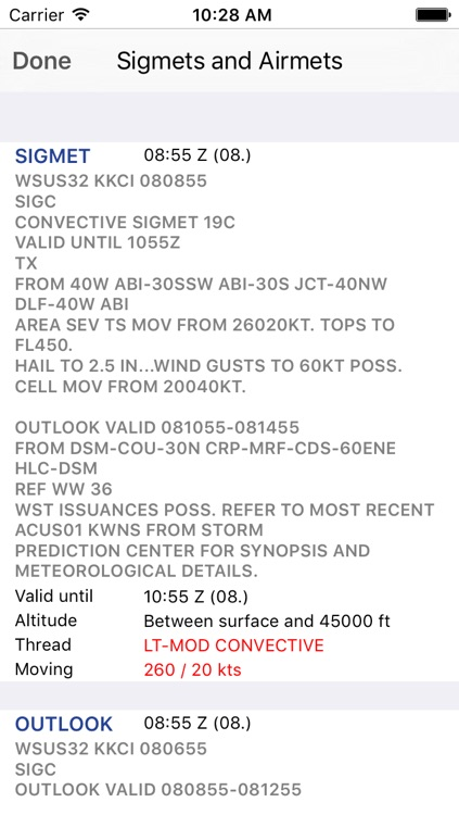 Sky MET - Aviation Meteo screenshot-3