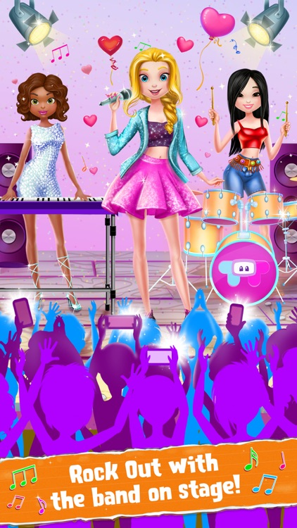 Rockstar Girls - Crazy Concert Day screenshot-3