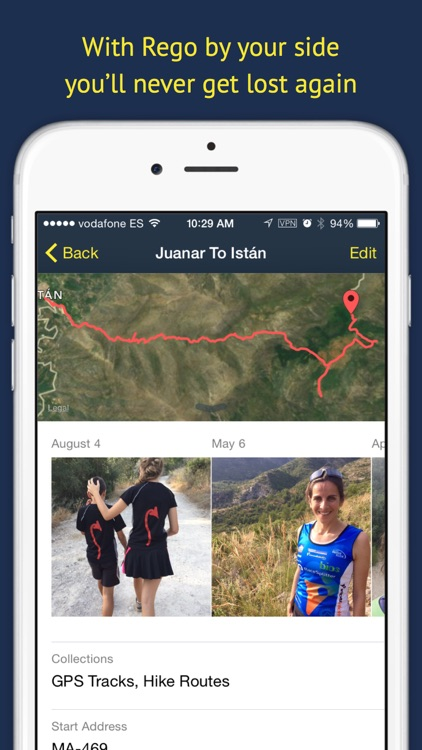 Rego —  Manage your favorite places and routes screenshot-3
