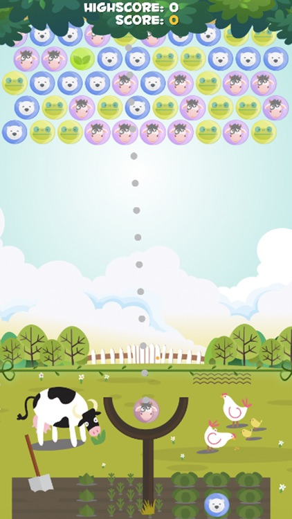Bubble Farm Village - Top Best New Adventures Witch Shooter Free screenshot-3