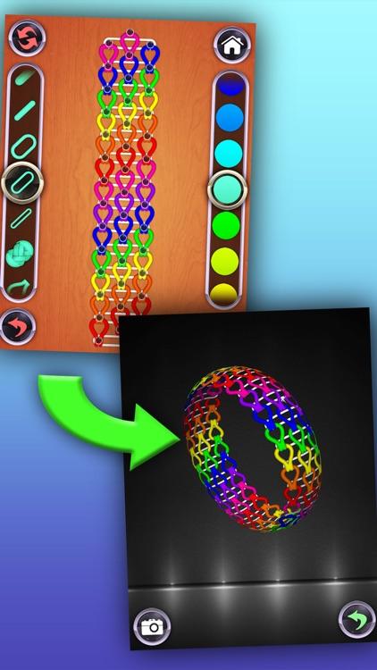 Rainbow Loom Designer screenshot-0