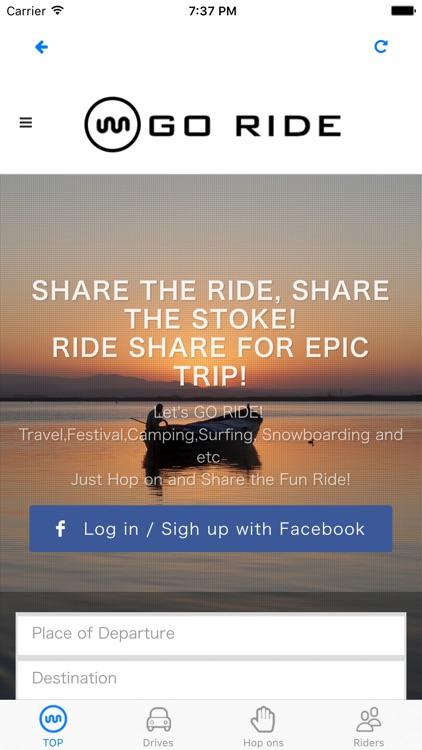 GO RIDE Carpooling by Toyo Hirashima