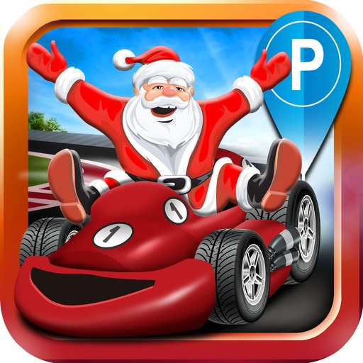 Christmas Car Parking Simulator - Real 3D Truck Driving Test & Santa Run Racing Games!