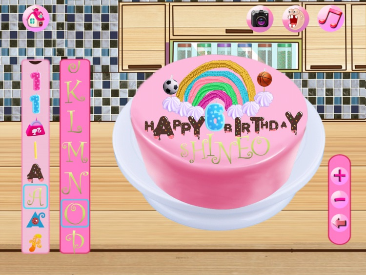 Cream Cake Maker:Cooking Games For Kids-Juice,Cookie,Pie,Cupcakes,Smoothie and Turkey & Candy Bakery Story HD screenshot-3