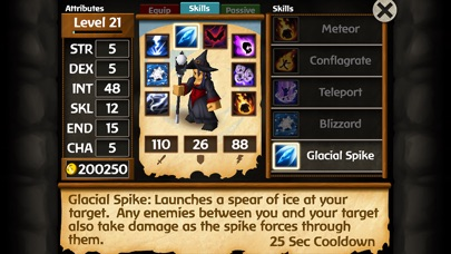 Screenshot for Battleheart Legacy in Singapore App Store