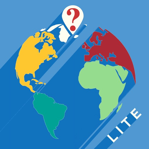 QuestiOn Map Lite US Maps Quiz USA and Countries of the World