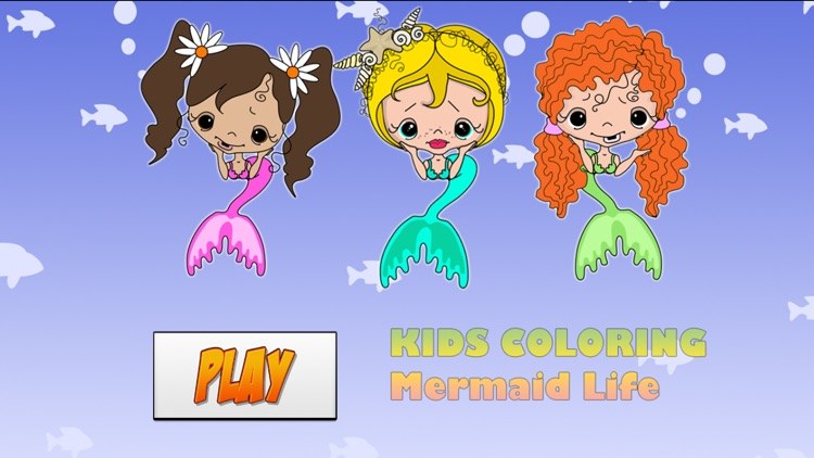 Kids Coloring Mermaid