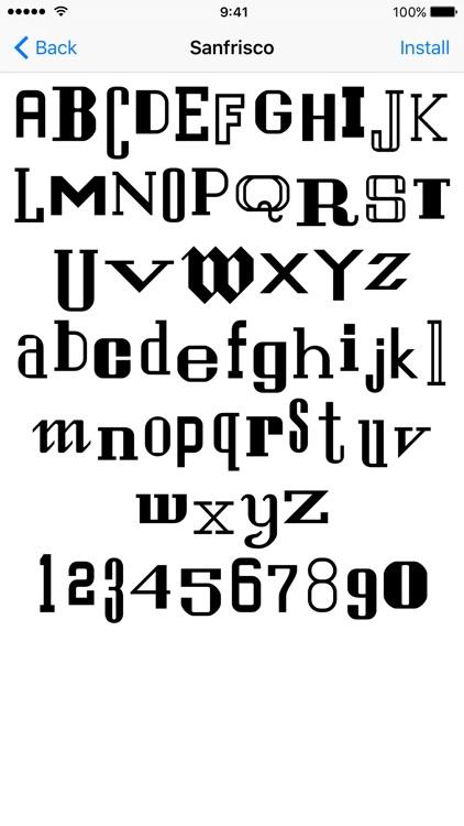 Font Manager by namedfork net