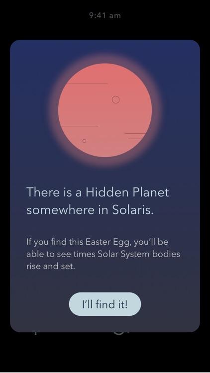 Solaris Sky Calendar screenshot-3