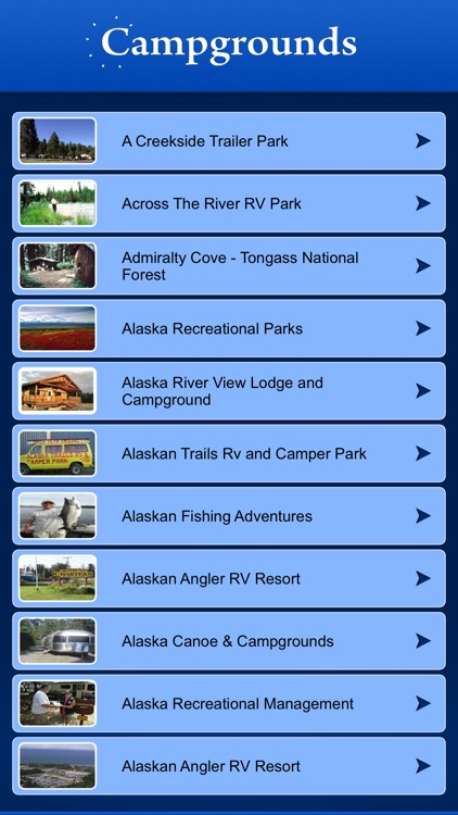 Alaska Campgrounds and RV Parks screenshot-1