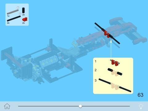 Ferrari Racer For Lego Technic 8070 Set Building Instructions