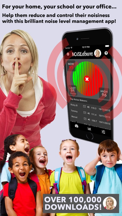 Noise Down - sound manager alarm app