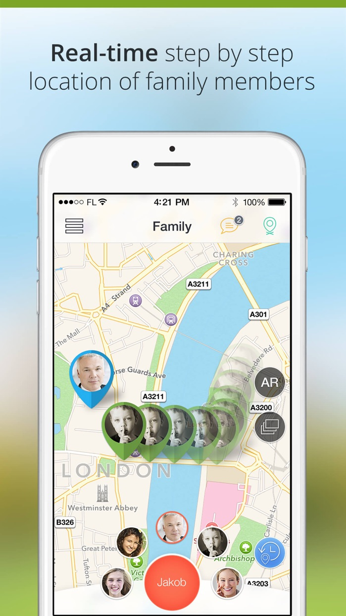 Family Locator and GPS Tracker Screenshot