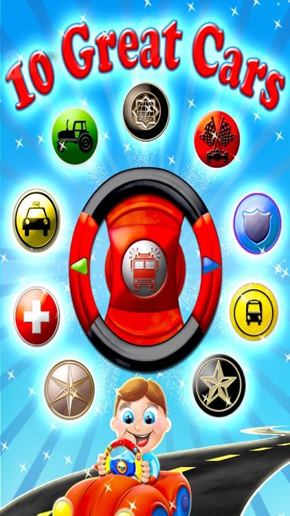 Kids Steering Wheels - Interactive Virtual Toy HD screenshot-4