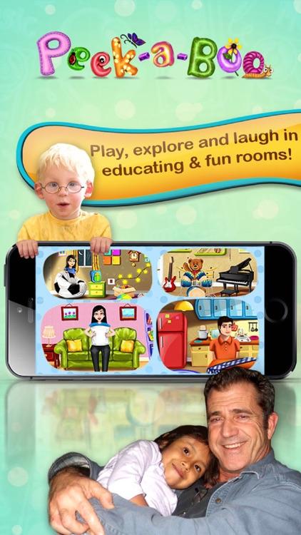 Peekaboo I see You – Educating discovery playground for preschooler baby to Kids screenshot-0