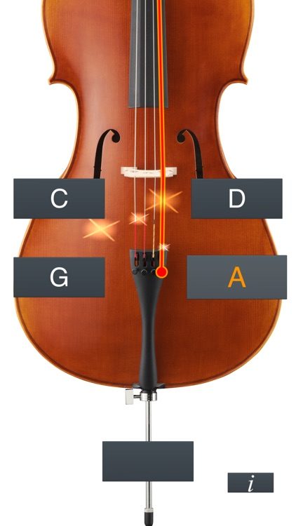 Cello Tuner Simple screenshot-4