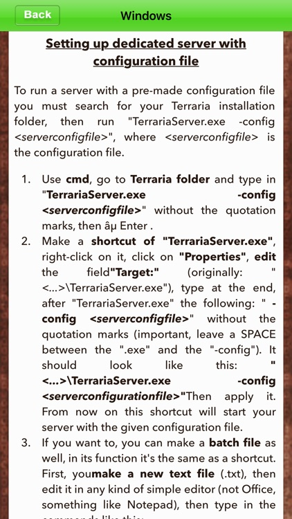 Setup Multiplayer Servers For Teraria screenshot-3