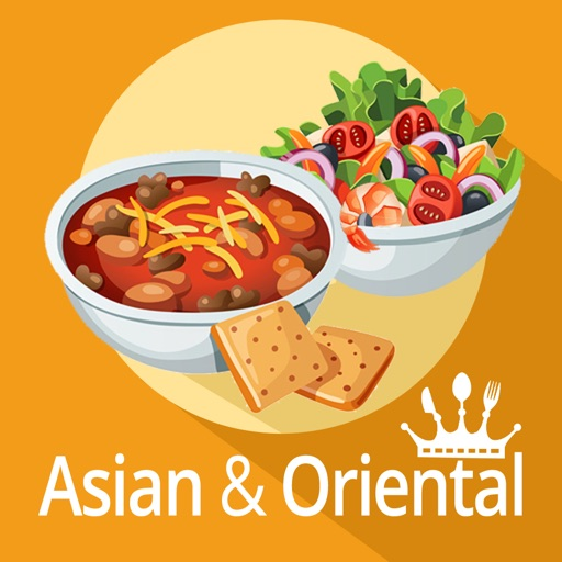 Asian, Indian, Eastern and oriental cuisine, spices with videos