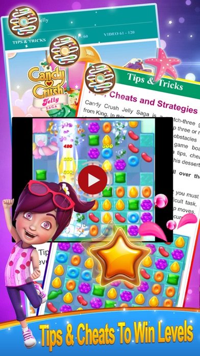 Guide for Candy Crush Jelly Saga screenshot two