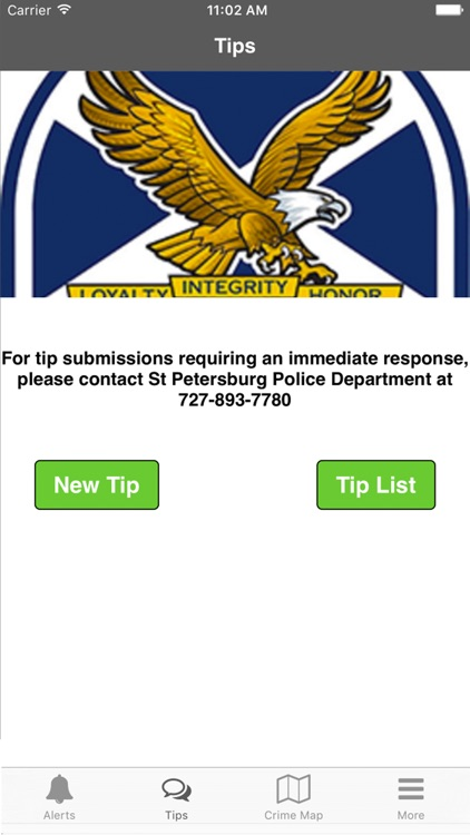 SPPD Tips by City St Petersburg Police Department