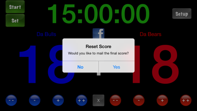 Score Keeper Hd review screenshots