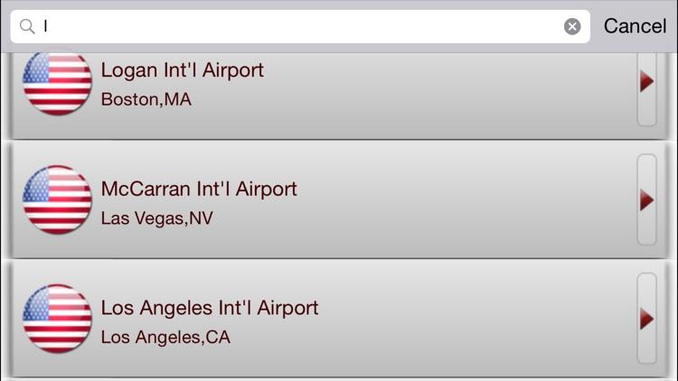 iFlightBoard Live-- Departures & Arrivals screenshot-4