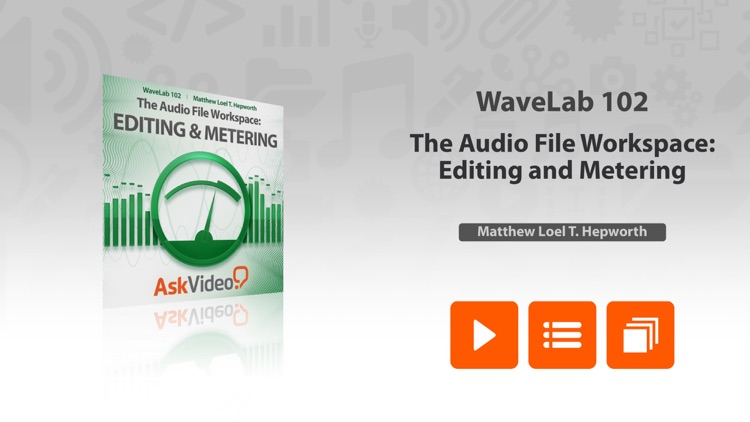 AV for WaveLab - Editing and Metering screenshot-0