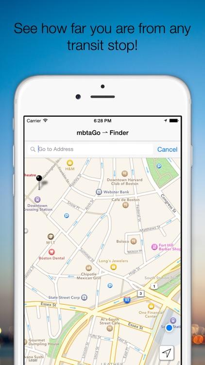 mbtaGo - Boston MBTA Tracker, Finder, Schedule Assistant, and Alerts