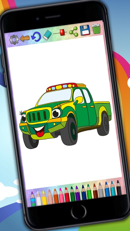 Paint Magic Cars Coloring Cars And Vehicles By Maria Amparo Ricos