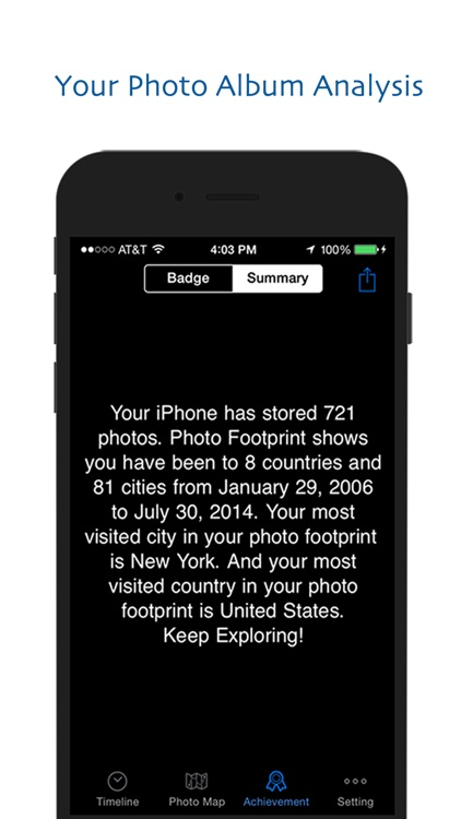 Photo Footprint - Automatic Display Your Picture on Map screenshot-4
