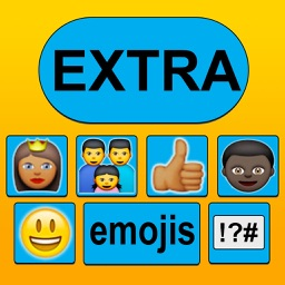 New Emoticon Keyboard - Extra Emojis for iOS 8