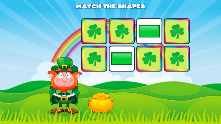 Shapes with Lucky the Leprechaun screenshot-2