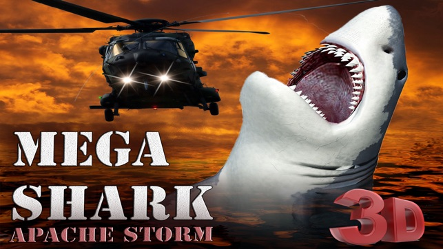 Mega Shark Apache Storm 3D - A Sea Annihilator Great White