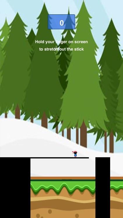 Pocket Bridge Dude Ninja - Hold Stick to Reach Tower