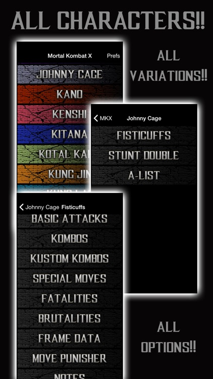 Guide - Mortal Kombat X Edition with Frame Data,Kustom Kombos, and Move Punisher Tools screenshot-4
