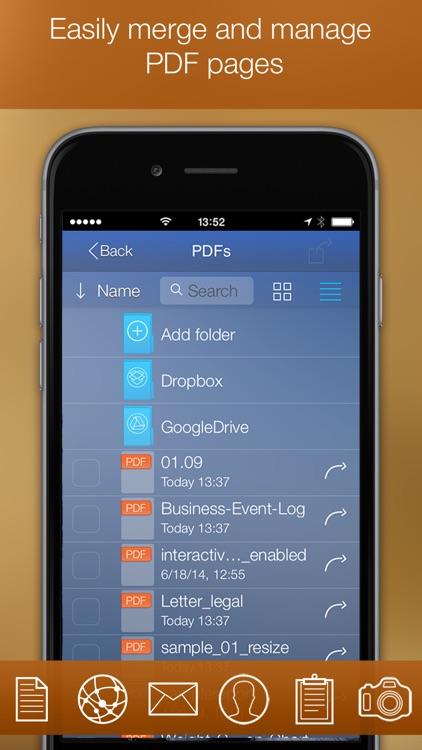 PDF Printer for iPhone screenshot-4